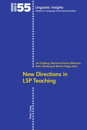 Peter Kastberg et Jan Engberg - New Directions in LSP Teaching.