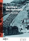 Peter Kuon - L'écriture des revenants - Lectures de témoignages de la déportation politique.