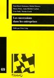 Peter Ling - Les successions dans les entreprises.