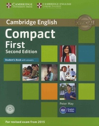 Peter May - Cambridge English Compact First - Student's Book with answers. 1 CD audio
