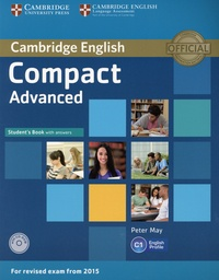 Peter May - Compact Advanced C1 - Student's Book with answers. 1 Cédérom