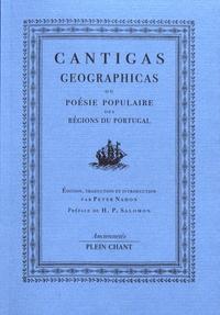 Peter Nahon - Cantigas geographicas - Poésie populaire des régions du Portugal.
