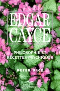 EDGAR CAYCE. Philosophie et recettes psychiques.pdf