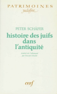 Peter Schäfer - Histoire des Juifs dans l'Antiquité.