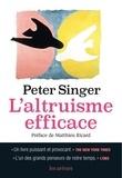 Peter Singer - L'altruisme efficace.