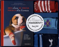 Peter Wedderburn - Coffret Des chaussettes qui ont du chien - Mon chien de prend pour un être humain, avec 3 paires doubles de chaussettes antidérapantes pour chien.