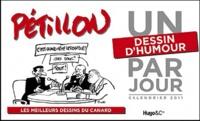 Pétillon - Un dessin d'humour par jour - Calendrier.