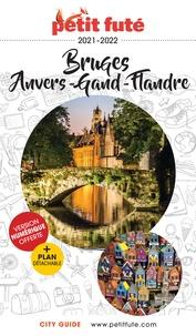 Petit Futé - Petit Futé Bruges, Anvers, Gand, Flandre. 1 Plan détachable