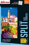 Petit Futé - Split - Iles croates. 1 Plan détachable