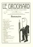 Anne-Lou Steininger et Christophe Esnault - Le Grognard N° 10, Juin 2009 : .