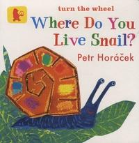Petr Horacek - Where Do You Live Snail?.