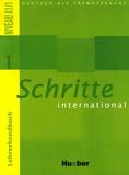 Petra Klimaszyk et Isabel Krämer-Kienle - Schritte international 1 - Lehrerhandbuch.