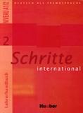 Petra Klimaszyk et Isabel Krämer-Kienle - Schritte international Niveau A1/2 - Tome 2, Lehrerhandbuch.