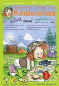 Petronella Glückschuh: Deutschland - Umwelt - Tiere - Kinderatlas - Bahnkarten, Straßenkarten, Sonderseiten zu Naturparken, Nationalparken, Biosphärenreservaten, Sonderseiten zu Umwelt und Tieren,  Spieleteil.