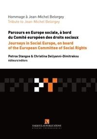 Petros Stangos et Christina Deliyanni-Dimitrakou - Hommage à Jean-Michel Belorgey - Parcours en Europe sociale, à bord du Comité européen des droits sociaux.