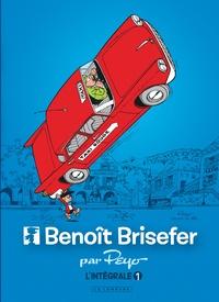 Peyo - Benoît Brisefer Intégrale Tome 1 : Les Taxis rouges ; Madame Adolphine ; Les Douze Travaux de Benoît Brisefer.