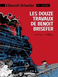 Peyo et  Delporte - Benoît Brisefer (Lombard) - tome 3 - Les Douze travaux de Benoît Brisefer.