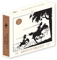 Peyo - Johan et Pirlouit Oeuvres complètes To : Le châtiment de Basenhau ; Le maître de Roucybeuf ; Le lutin du bois aux roches ; La pierre de lune.