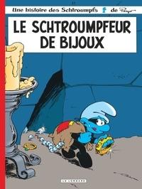 Peyo et Luc Parthoens - Les Schtroumpfs Tome 17 : Le schtroumpfeur de bijoux.