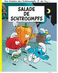 Peyo et Luc Parthoens - Les Schtroumpfs Tome 24 : Salade de Schtroumpfs.