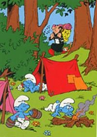Peyo - Réalise ton superbe coloriage Schtroumpfs - Promenons-nous dans les bois !.