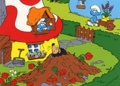Peyo - Réalise ton superbe coloriage Schtroumpfs - Vive le printemps !.