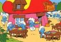 Peyo - Réalise ton superbe coloriage Schtroumpfs - Une faim de schtroumpf.
