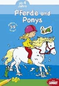 Pferde und Ponys.
