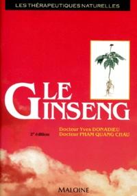 Galabria.be LE GINSENG. Thérapeutique naturelle, 2ème édition Image