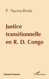 Phambu Ngoma-Binda - Justice transitionnelle en RD Congo.