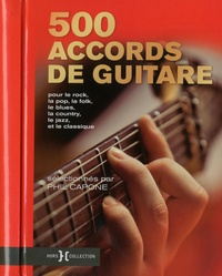 Phil Capone - 500 accords de guitare.