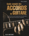 Phil Capone - Guide complet des accords de guitare.