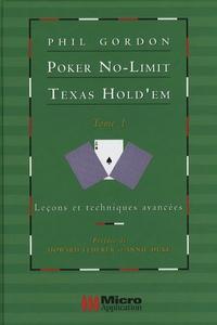 Galabria.be Poker No-Limit Texas Hold'em - Tome 1 : Leçons et techniques avancées Image