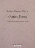 Philarète Chasles et Charles Rabou - Contes bruns.