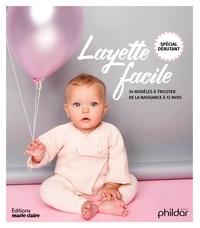Alixetmika.fr Layette facile - Spécial débutants. 34 modèles à tricoter de la naissance à 12 mois Image