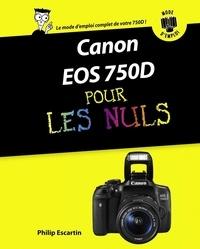 Philip Escartin - Canon EOS 750D pas à pas pour les Nuls.
