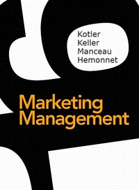 Philip Kotler et Kevin Keller - Marketing Management - + MyLab.