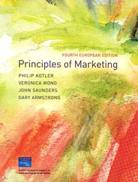 Philip Kotler et Veronica Wong - Principles of marketing.