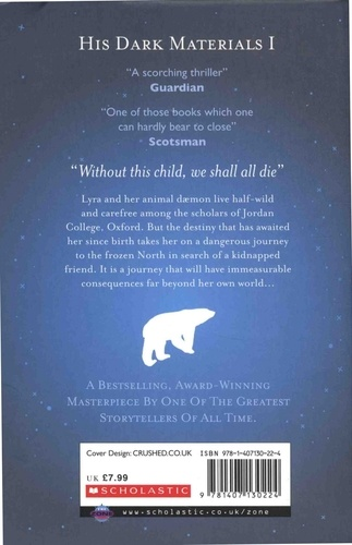 His Dark Materials Tome 1 Northern Lights