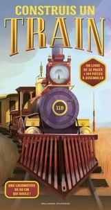 Philip Steele et Gregor Forstere - Construis un train - Coffret avec 144 pièces à assembler.