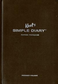 Philipp Keel - Keel's Simple Diary (Marron) - Premier volume.