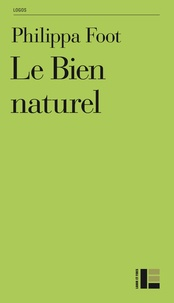 Philippa Foot - Le bien naturel.