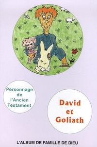 Philippe Abauzit - David et Goliath - L'album de famille de Dieu, Livret de coloriage : Personnage de l'Ancien Testament.