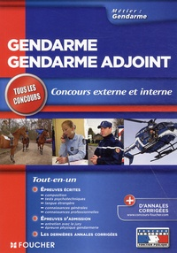 Philippe Alban et Valérie Béal - Gendarme, gendarme adjoint.