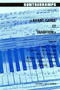 Philippe Albèra - Avant-garde et tradition - Revue Contrechamps n°3.