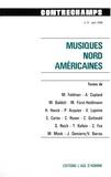 Philippe Albèra - Musiques nord-américaines - Revue Contrechamps n°6.