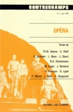 Philippe Albèra - Opéra - Revue Contrechamps n°4.