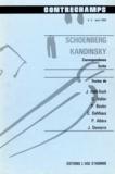 Philippe Albèra - Schoenberg - Kandinsky. Correspondance, écrits - Revue Contrechamps n°2.