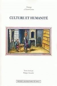 Philippe Alexandre - Culture et humanité - Hommage à Elisabeth Genton.