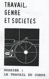Philippe Alonzo et Tania Angeloff - Travail, genre et sociétés N° 12, Novembre 2004 : Le travail du corps.